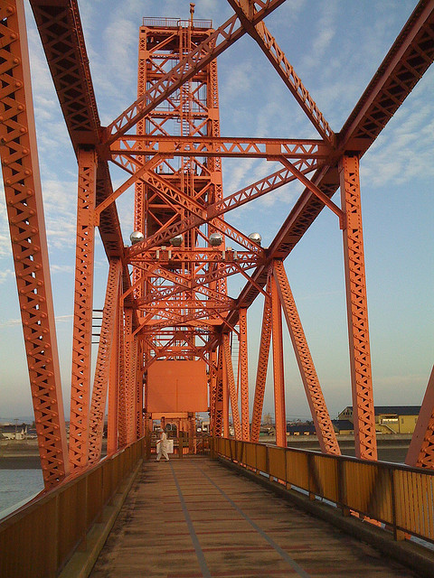 Chikugo River Lift bridge / kisocci