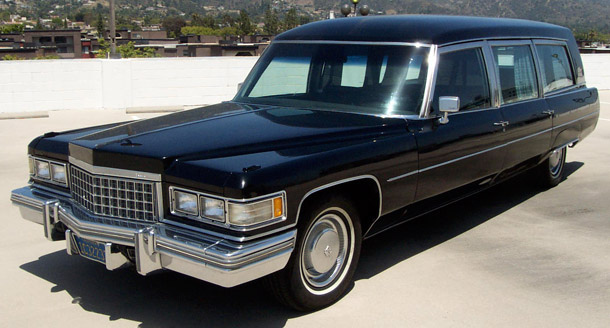 1976 Cadillac Miller-Meteor Hearse / That Hartford Guy