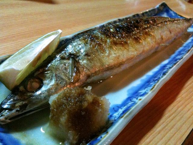 20100605_藤吉燒烤_21_秋刀魚 / macglee